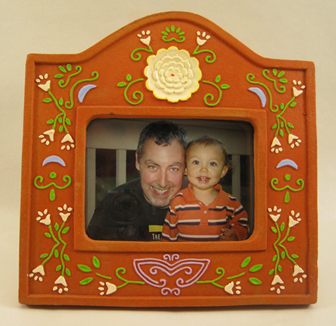 Hand Painted Ceramic Picture Frames