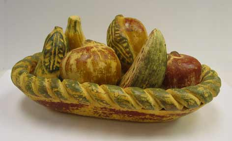 Mexican Pottery - Clay Fruit Bowl