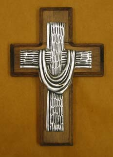 Mexican Pewter - Mantle Cross